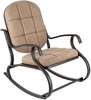 Кресло-качалка Calviano Relax Steel (темно-коричневый) -