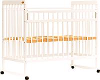 Детская кроватка Bambini Euro Style М 01.10.03 (слоновая кость) -