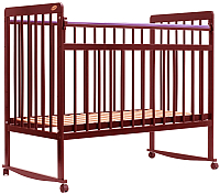 Детская кроватка Bambini Euro Style М 01.10.03 (светлый орех) -