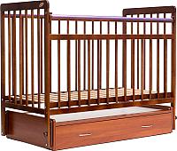 Детская кроватка Bambini Euro Style М 01.10.04 (светлый орех) -