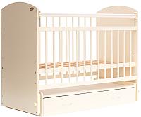 Детская кроватка Bambini Elegance М 01.10.07 (слоновая кость) -