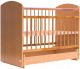 Детская кроватка Bambini Elegance М 01.10.08 (натуральный) -