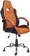 Кресло офисное Седия Tyrrell (черный/оранжевый) -