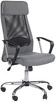 Кресло офисное Halmar Zoom (черный/серый) -