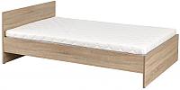 Двуспальная кровать Halmar Lima Loz-160 (дуб сонома) -