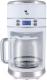 Капельная кофеварка Kitfort KT-704-1 (белый) -