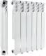 Радиатор алюминиевый Alcobro AL-2E500 (4 секции) -