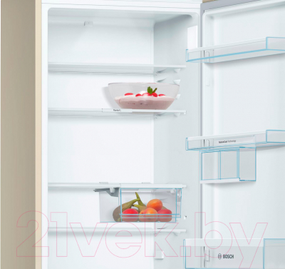 Холодильник с морозильником Bosch KGE39XK2OR