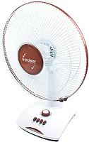 Вентилятор Endever Breeze-01 (белый/коричневый) -