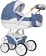 Детская универсальная коляска Riko Brano Luxe 3 в 1 (04/denim) -