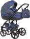 Детская универсальная коляска Riko Brano Natural 3 в 1 (01/denim) -