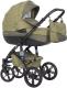 Детская универсальная коляска Riko Brano Natural 3 в 1 (04/olive) -