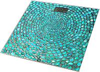 Напольные весы электронные Lumme LU-1329 (голубая бирюза) -
