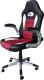 Кресло офисное Mio Tesoro Данте AOC-8033 (черный/белый/красный) -