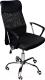 Кресло офисное Mio Tesoro Фредо AOC-8648 (черный/черный) -