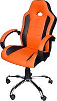 Кресло офисное Mio Tesoro Фабио AOCB-MC007 (черный/оранжевый) -