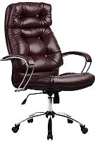 Кресло офисное Metta LK-14CH (бордовый) -
