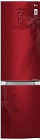 Холодильник с морозильником LG GA-B499TGRF -