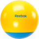 Фитбол гладкий Reebok RAB-40017CY (голубой/желтый) -