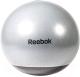 Фитбол гладкий Reebok RAB-40017GR (серый/черный) -