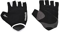 Перчатки для пауэрлифтинга Reebok RAEL-11134BK (L/XL, черный) -