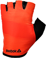 Пояс для пауэрлифтинга Reebok RAGB-11234RD (S, красный) -