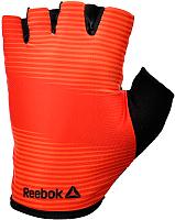 Перчатки для пауэрлифтинга Reebok RAGB-11237RD (XL, красный) -