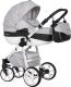 Детская универсальная коляска Riko Nano Ecco 3 в 1 (02/carbon) -