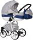 Детская универсальная коляска Riko Nano Ecco 3 в 1 (03/denim) -