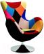 Кресло Halmar Butterfly (пэчворк) -