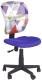 Кресло офисное Halmar Jump (фиолетовый) -