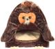 Домик для животных Gigwi Сова 75061 (коричневый/бежевый) -