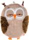 Лежанка для животных Gigwi Сова 75356 (коричневый/бежевый) -
