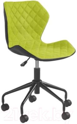 Кресло офисное Halmar Matrix (черный/зеленый)
