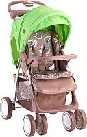 Детская прогулочная коляска Lorelli Terra Beige&Green Lambs (10020961732A) -