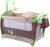Кровать-манеж Lorelli Sleep&Dream Beige Buddies (10080311707) -