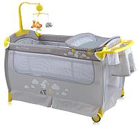 Кровать-манеж Lorelli Sleep&Dream Grey Rabbit (10080311706) -