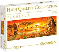 Пазл Clementoni Панорама. Африканская саванна 39259 (1000эл) -