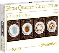 Пазл Clementoni Панорама. Кофе 39275 (1000эл) -