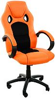 Кресло офисное Calviano XRacer Pro (оранжевый/чёрный) -