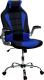 Кресло офисное Calviano Sport (черный/синий) -