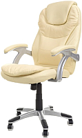 Кресло офисное Calviano Thornet с массажем (бежевый) -