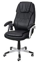 Кресло офисное Calviano Thornet с массажем (черный) -