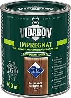 Защитно-декоративный состав Vidaron Impregnant V08 Королевский палисандр (0.7л) -