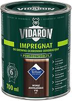 Защитно-декоративный состав Vidaron Impregnant V10 Африканское венге (0.7л) -