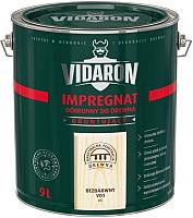Защитно-декоративный состав Vidaron Impregnant V01 Бесцветный (9л) -