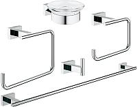 Набор аксессуаров для ванной GROHE Essentials Cube 40758001 -
