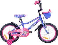 Детский велосипед Aist Wiki 14 (фиолетовый) -