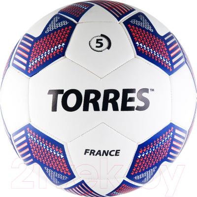 Torres Team France F30545 Футбольный мяч размер 5 купить в Минске 4009b93d8b6