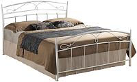 Односпальная кровать Signal Siena 120x200 (белый) -